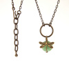 Aventurine Dragonfly Wrapped Necklace