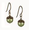 Rosaline Earrings - Light Green