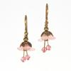 Light Pink Fairy Flower Short Earrings